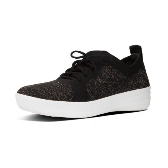 F-SPORTY-UBERKNIT-SNEAKERS-METALLIC-WEAVE-BLACK-METALLIC-BRONZE_L40-501