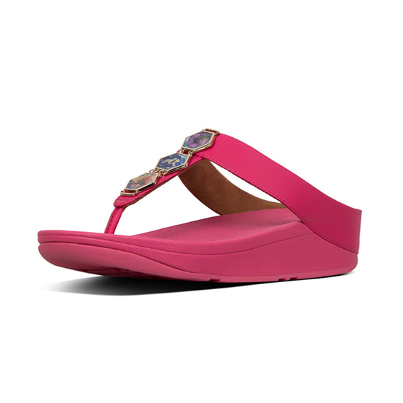 41b71ef73 FINO Hexy Flower Crush Toe-Thongs - FitFlop