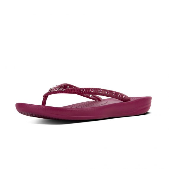 IQUSHION-ERGONOMIC-FLIP-FLOPS-CRYSTAL-PLUM-JAM_K39-607