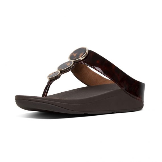 HALO-TORTOISESHELL-TOE-POST-CHOCOLATE-BROWN-TURTLE_T36-690