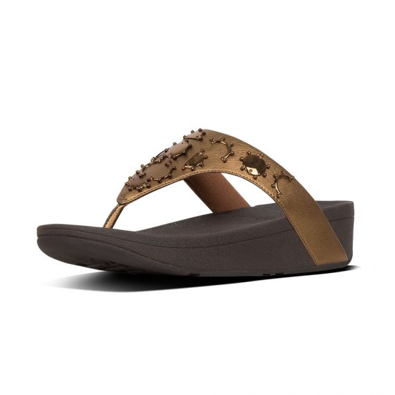 LOTTIE-CRESCENT-STUD-TOE-POST-BRONZE_T62-012