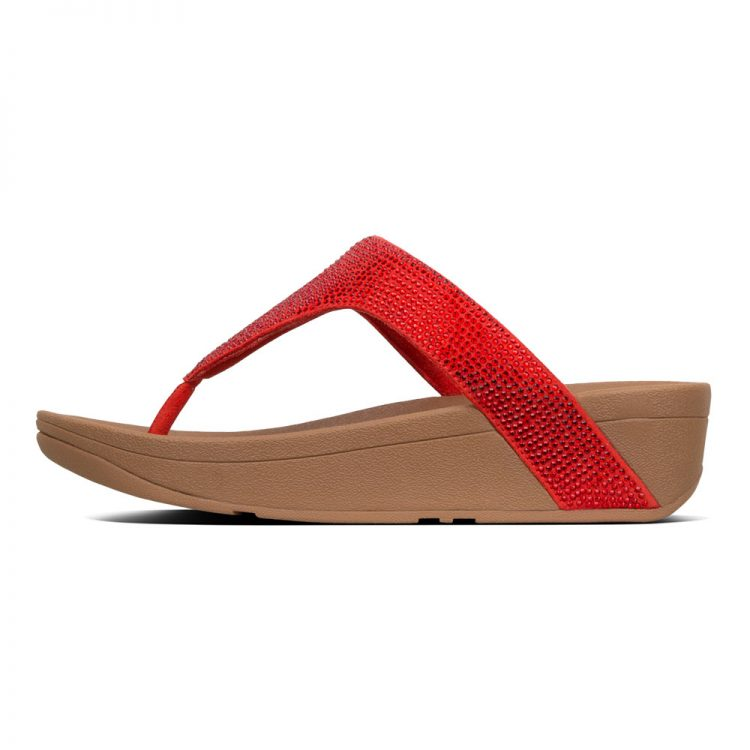 LOTTIE-SHIMMERCRYSTAL-TOE-POST-PASSION-RED