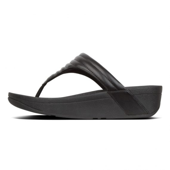 LOTTIE-PADDED-TOE-POST-BLACK