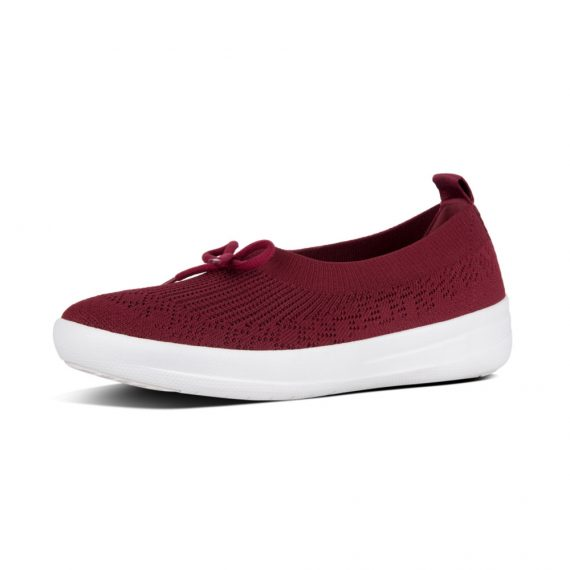 UBERKNIT-SLIP-ON-BALLERINA-WITH-BOW-BERRY_E90-620