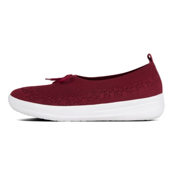 UBERKNIT-SLIP-ON-BALLERINA-WITH-BOW-BERRY