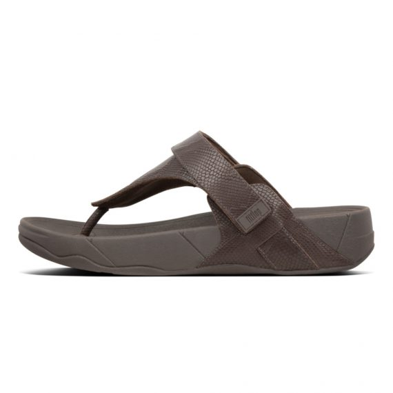 ETHAN-CROC-PRINT-TOE-THONGS-CHOCOLATE-BROWN