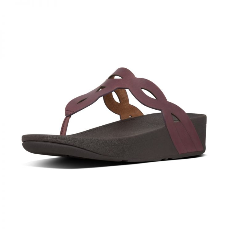 EVA-INTERLACE-TOE-THONGS-LINGONBERRY