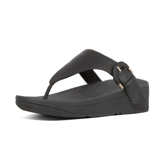 LOTTIE-BUCKLE-TOE-THONGS-BLACK_X63-001