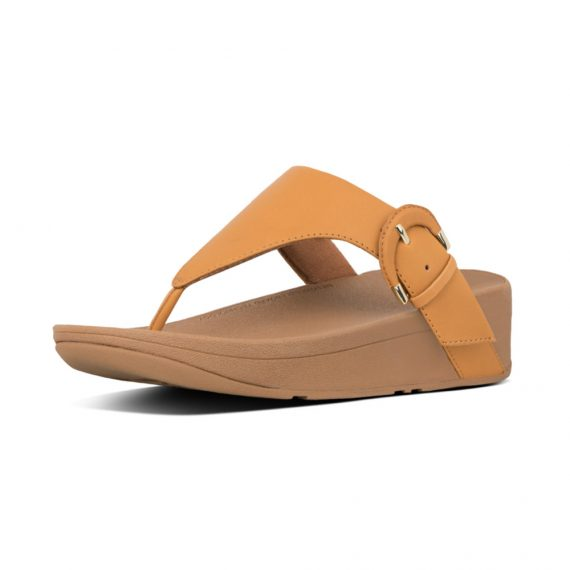 LOTTIE-BUCKLE-TOE-THONGS-MUSTARD_X63-753