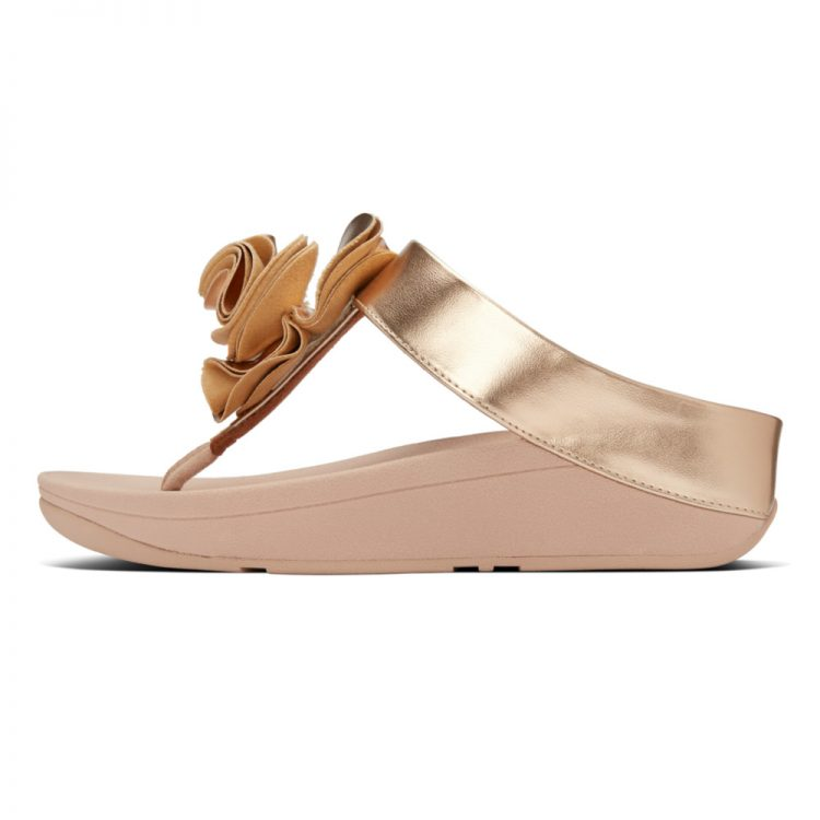 FLORRIE-TOE-POST-PU-ROSE-GOLD
