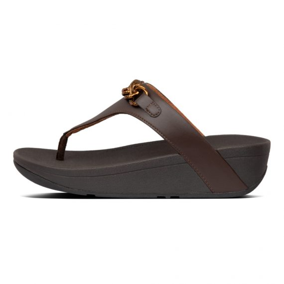 LOTTIE-CHAIN-TOE-THONGS-CHOCOLATE-BROWN