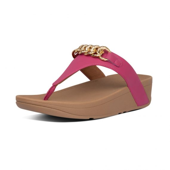 LOTTIE-CHAIN-TOE-THONGS-FUCHSIA_AL8-058