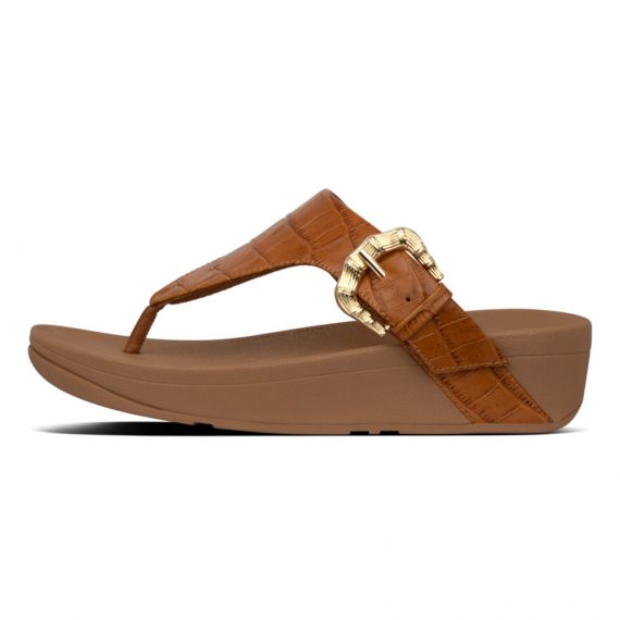 LOTTIE-CROCO-TOE-THONGS-LIGHT-TAN